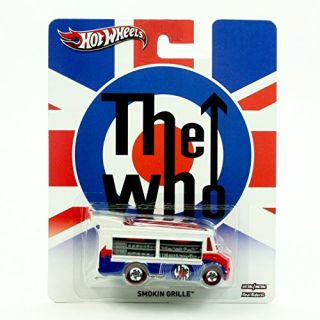 SMOKIN GRILLE THE WHO Hot Wheels 2013 Pop Culture Series Die-Cast Vehicle