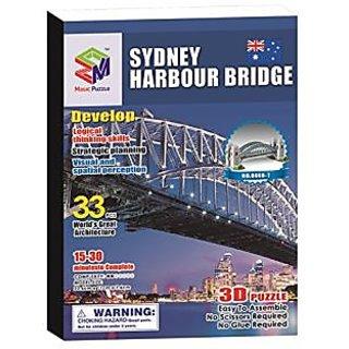 Magic Puzzle Sydney Bridge, 33 Pieces