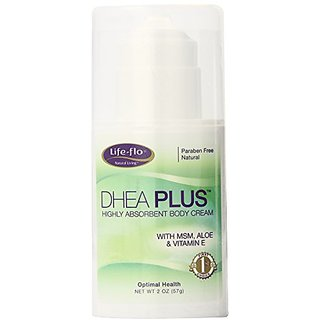 Life-Flo DHEA PLUS Cream, 2-Ounce Bottles (Pack of 2)