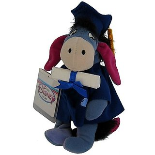 Eeyore Graduation - Disney Mini Bean Bag Plush