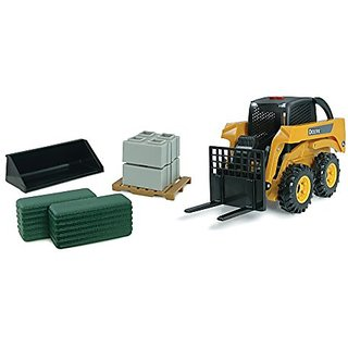 Ertl John Deere Big Farm Skid Steer Set