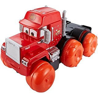 Disney-Pixar Cars, Hydro Wheels, Deluxe Mack Bath Vehicle