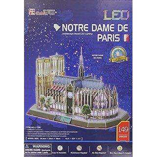 Daron Notre Dame Led 3D Puzzle (149-Piece)