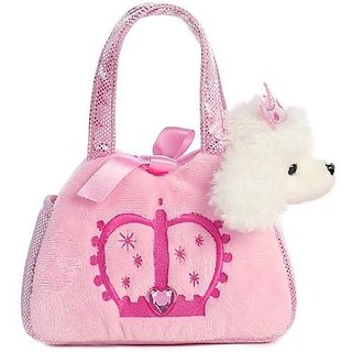 Aurora World Fancy Pals Princess Crown Pet Carrier