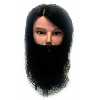 Celebrity Dylan Budget Bearded Manikin Hair Cutting Kit