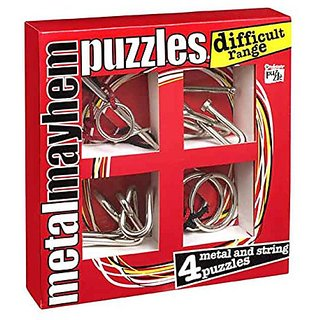 Metal Mayhem Difficult Brainteaser Gift Set