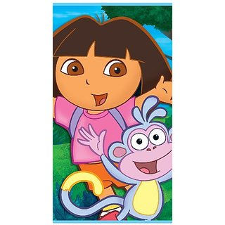 Dora & Friends Plastic Tablecover