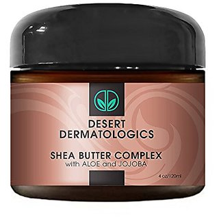 Desert Dermatologics Shea Butter Complex with Organic Aloe and Jojoba (4 ounce)