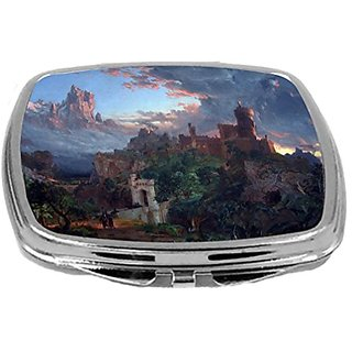 Rikki Knight Compact Mirror, Frances Cropsey Art The Spirit of War, 3 Ounce