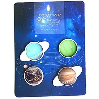 Faraway Sky Badges (Set of 4 Pcs)