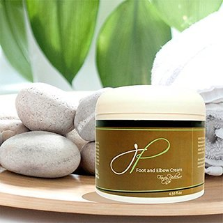 Moisturizing Natural Foot Cream - Non Greasy Anti Aging Formula Repairs Dry Skin & Cracked Heels & Elbows - 4.5 fl.oz