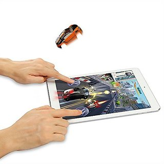 [Race a Real Car on Your Tablet] Pocket Racing 3D Smart Game Toy Racing Car for iPad, Android Tablet with Shining, Vibra
