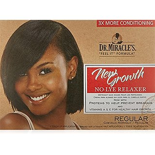 Dr. Miracles New Growth Thermaceutical Intensive No-lye Relaxer Regular Kit