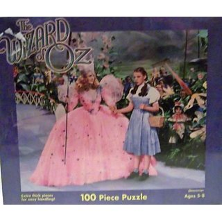 Wizard of Oz Puzzle - Good Witch 100 Pieces by Presssman (199) by Pressman Toy