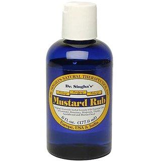 Dr. Singhas Mustard Bath Rub, 6 Ounce
