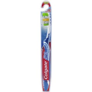 Colgate Max Fresh Full Head Toothbrush, Medium, 1-Count Packages Colors Vary (Pack of 6)