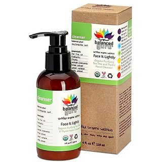 Balanced Guru Face It Lightly Facial Cleanser 4 fl oz.