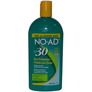 No AD Sunblock Lotion SPF 30-16 oz, 2 pk