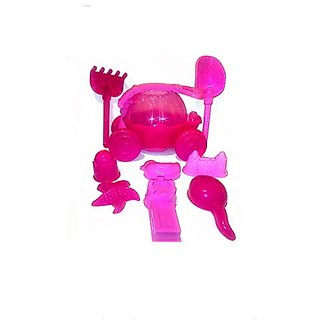 Beach Sand Pink Carriage toy set