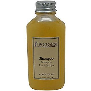 Poggesi Coco Mango Shampoo Lot of 12 each 2oz Bottles Total of 24oz