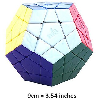 MF8 Big Megaminx 9cm Stickerless Dodecahedron Puzzle Cube Toy NEW