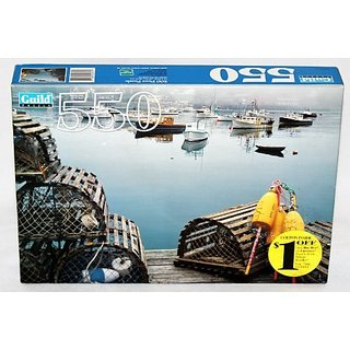 Guild 550 Piece Puzzle Bass Harbor, Mount Desert Island, ME