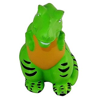 T-Rex Dinosaur Shaped Stress Relief Toy, Squeezable Foam.