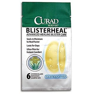Curad Blisterheal Hydrocolloid with Aloe for Hands and Feet, 6 Count