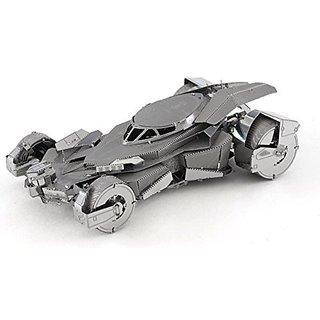 Fascinations Metal Earth Batman v Superman Batmobile 3D Metal Model Kit