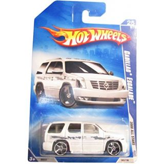 Hot Wheels 2008-25 of 36 Cadillac Escalade All Stars 08 065-196 1:64 Scale
