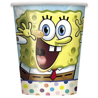 9oz SpongeBob SquarePants Party Cups, 8ct