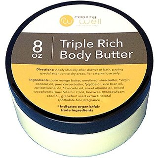 Relaxing Well the Natural Way Triple Rich Body Butter