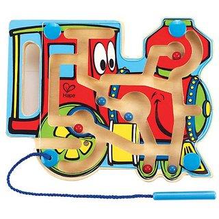Hape - Choo Choo Tracks Magnetic Wooden Maze Puzzle
