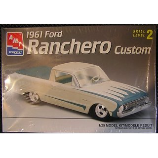 1961 Ford Ranchero Custom: Skill Level 2 Plastic 1:25 Scale Model Kit