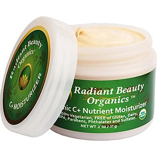 Facial Moisturizer - Best Organic,100% Natural, Hydrating, Moisturizing, Vitamin C Face Cream for Dry, Sensitive, Oily S