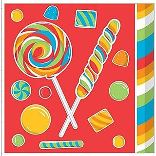Candy Sugar Buzz Luncheon Napkins - 2 pack (32 napkins)