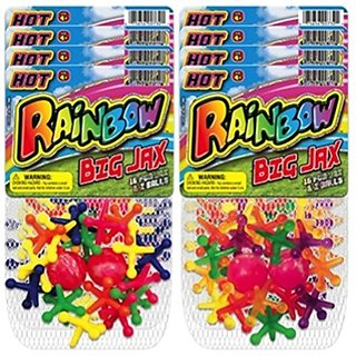 Ja-Ru Rainbow Double Big Jax (Party Favor Bundle Pack of 8)