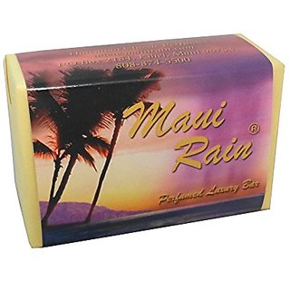 Maui Rain Luxury Bath Bar Soap Hawaiian Classic Perfumes