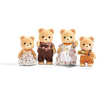 Calico Critters Cuddle Bear Family Doll