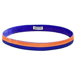 Striped Satin Wide Headband
