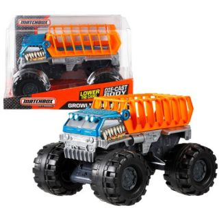 Matchbox Year 2013 On A Mission Series 1:24 Scale Die Cast Truck Vehicle Set - Beast Basher GROWLIN GRABBER with Moveabl