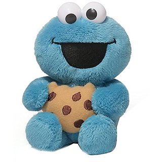 Gund Sesame Street Cookie Monster Foodies Plush, 6