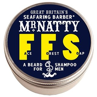 Mr. Natty Nattys Face Forest Soap Beard Shampoo