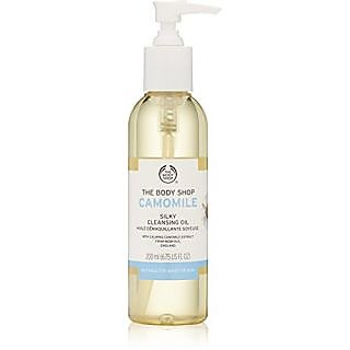 The Body Shop Camomile Silky Cleansing Oil, 6.7 Ounce (Packaging May Vary)