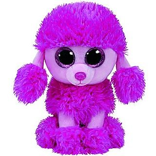 Ty Beanie Boos PATSY Pink Poodle Dog 6