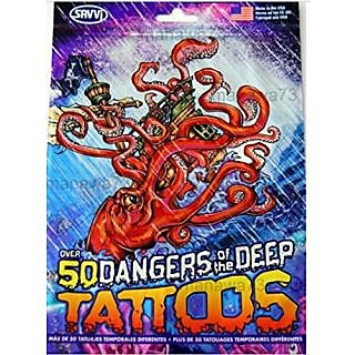 PIRATE Tattoos Dangers of the Deep (over 50 tattoos)