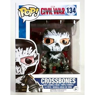 Funko POP Marvel: Captain America 3: Civil War Action Figure Crossbones 134