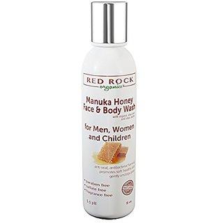 Manuka Honey Face and Body Wash - (8 oz) by Red Rock Organics