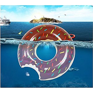 DOMIRE Giant Donut Inflatable Pool Float 48