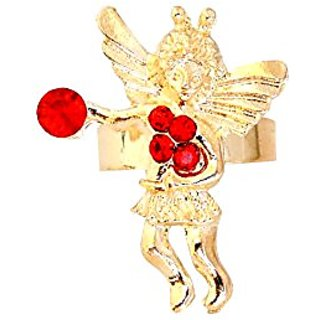 Linda Fashion Angel Ring, 12 Count